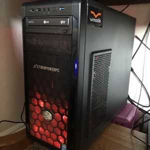 CyberPower Gaming Pc Windows 8.1 Model CSeries Cooler Master case for Sale in Gresham, OR