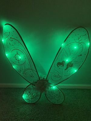 Disney light up TinkerBell Wings like new for Sale in El Cajon, CA