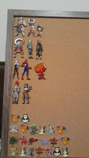 Pokemon,Marvel,Zelda,Adam Sandler,Naruto Pins for Sale in Fairfield, CA