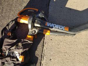 Worx leaf blower, leaf vacuum, mulcher for Sale in Mesa, AZ