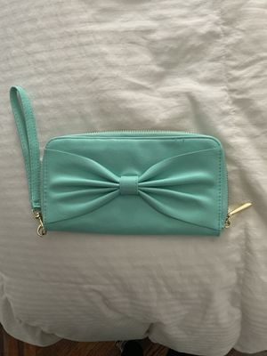 Turquoise Bow Wallet for Sale in New York, NY