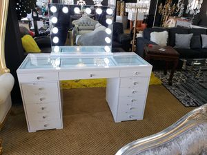 Vanity for make up high gloss top notch quality wholesale price<vanity only> for Sale in Lodi, NJ