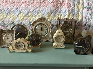Vintage clock collection for Sale in Clovis, CA