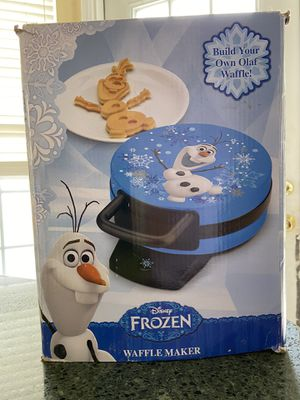 Olaf waffle maker for Sale in Franklin Township, NJ