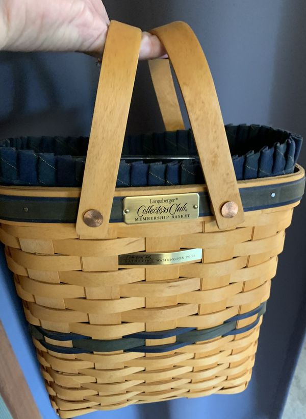 Longaberger 2003 membership basket