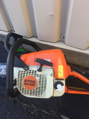 MS 290 stihl chainsaw for Sale in Stamford, CT