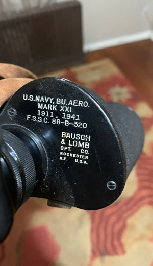 Us navy Binoculars for Sale in Upperco, MD