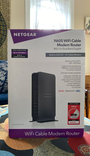 NETGEAR Modem Router for Sale in Baltimore, MD