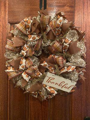Custom Fall Wreath for Sale in Spring, TX