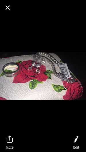 Sterling silver earrings and bracelet and ring for Sale in Antioch, CA