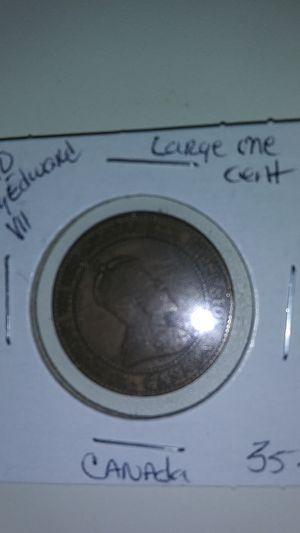 1910 King Edward VII large one cent. for Sale in Glendale, AZ