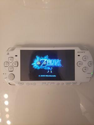 Modded PSP WHITE 3000 w/ over 1000 Games (PSP, PS1, Sega Genesis, N64, Gameboy Color & Advance and Super Nintendo Games) for Sale in Riverside, CA