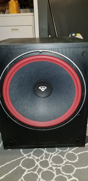 "Cerwin-Vega LW-15 Home theater subwoofer 15"" for Sale in Alexandria, VA"