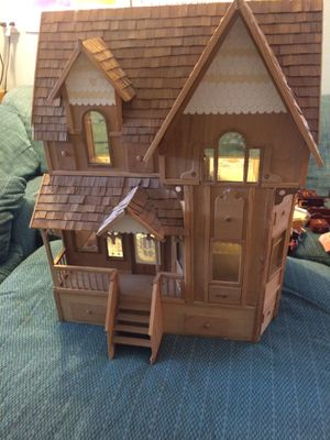 Wood dollhouse - huge! for Sale in Manson, WA