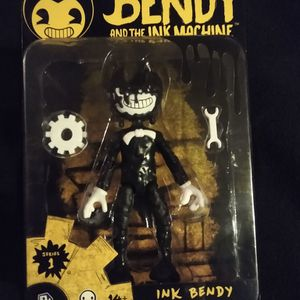 New Bendy And The Ink Machine Action Figure Inky Bendy for Sale in Albuquerque, NM