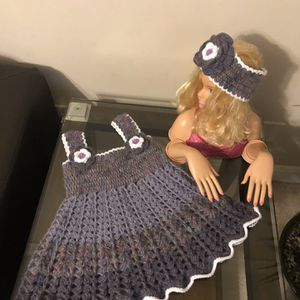 Very Beautiful Handmade Crochet Clothes For Girls for Sale in Loganville, GA