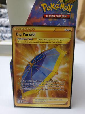 Big Parasol Secret Rare, Pokemon Darkness Ablaze for Sale in Everett, WA