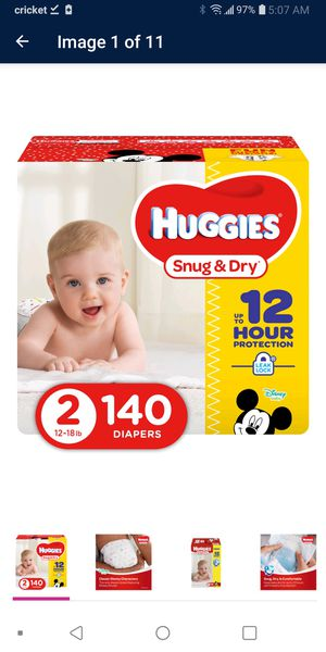 2 boxes Huggies size 2 for Sale in Denver, CO