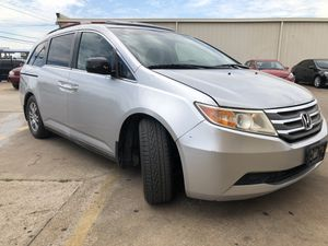 2012 Honda Odyssey EXl Clean Title leather seats DVD player minivan for Sale in Dallas, TX
