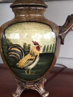 Rooster Lamp for Sale in Norwalk,  CT
