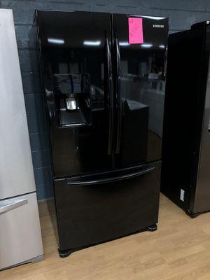 Samsung black French door refrigerator for Sale in Woodbridge, VA