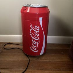 Coca-Cola Mini Fridge . Used Once In Perfect Conditions Keeps Items Very Cool. for Sale in North Olmsted,  OH