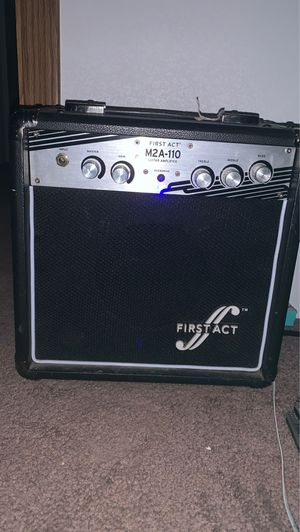 First act M2A-110 guitar amplifier for Sale in Afton, OK
