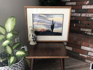 Vintage Boho Southwest Water Color by Ruth Butler for Sale in Carlsbad, CA