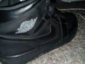 Black On Black Jordans Size 12 There The Number 1 for Sale in San Antonio,  TX