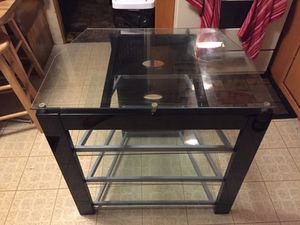 Glass base for tv for Sale in Elkhart, IN