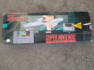 SNES Super scope & Yoshi Safari for Sale in Tampa, FL