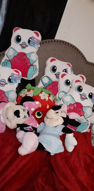 Stuffed animals plushies for Sale in Hesperia, CA