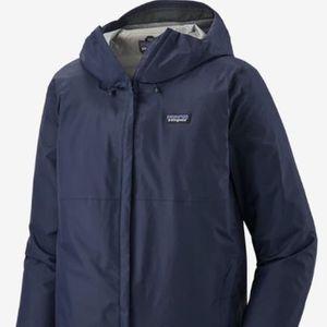 Patagonia Men XL Extra Large Rainproof Torrentshell 3L Jacket Coat Blue for Sale in Kirkland, WA