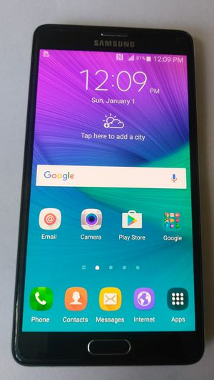 FOR SALE USED GALAXY NOTE 4 UNLOCKED ANY CARRIER USA TMOBIL ATT CRIKET METRO MEXICO TELCEL USACEL ,, GLASS CRACKED Any carrier GALAXY NOTE 4 for Sale in Los Angeles, CA