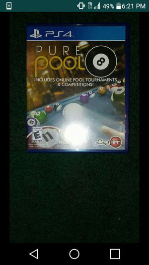 Pure Pool Ps4 Game for Sale in Las Vegas, NV