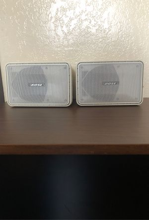 (2) Bose Model 101 Music Monitor for Sale in Dos Palos, CA