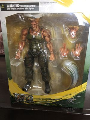 Street Figther Guile for Sale in Fairfax, VA