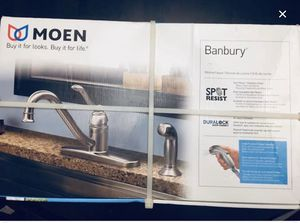 New In Box - MOEN Kitchen Faucet- selling for $72 at Homedepot for Sale in Reisterstown, MD