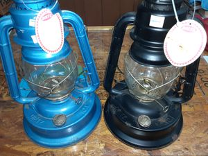 2 oil burning lanterns for Sale in Greenville, NC
