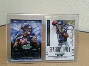 Russell Wilson football card display for Sale in Vancouver, WA