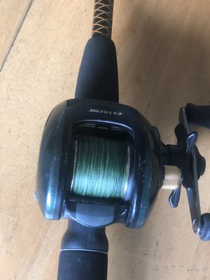 """ETx20HD Extreme with 6"""" Ugly Stick rod for Sale in Miramar, FL"""