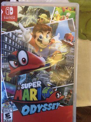 Super Mario Odyssey Nintendo Switch.. for Sale in Galt, CA