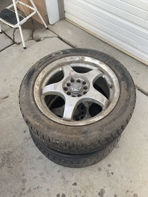 16 5x100 wheels and tires for Sale in Salt Lake City, UT