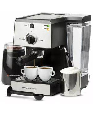 Espresso Machine & Cappuccino Maker 7 Pc-All-In-One Barista Bundle Set for Sale in Los Angeles, CA