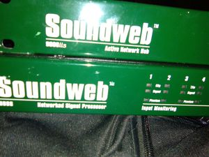 SOUNDWEB hub and processor for Sale in Las Vegas, NV
