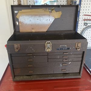 KENNEDY KIT # 520 TOOL BOX MACHINISTS 7 DRAWER'S KENNEDY TOOLBOX (W-20 1/4 Inches D- 8 1/2 Inches H- 13 1/2 Inches) $90.oo for Sale in Henderson, NV
