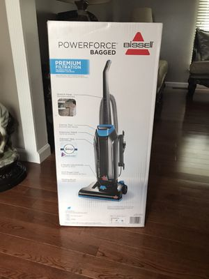 Bissell power force bag vacuum brand new in the box never used for Sale in Sterling Heights, MI
