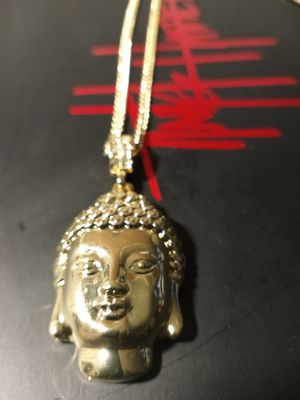 GOLD FILLED PENDANT AND CHAIN for Sale in Houston, TX