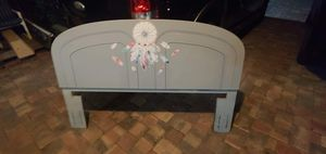 Gray Queen-size headboard for Sale in Bartow, FL