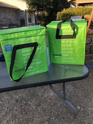 Amazon fresh totes for Sale in Fort Worth, TX